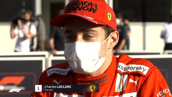 シャルル・ルクレール(フェラーリ)2021年F1アゼルバイジャンGP予選コメント
