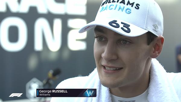 ジョージ・ラッセル(ウィリアムズ)2021年F1イタリアGP決勝コメント