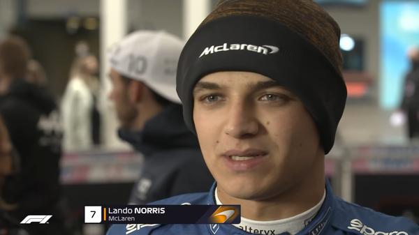 ランド・ノリス(マクラーレン)2021年F1トルコGP決勝コメント