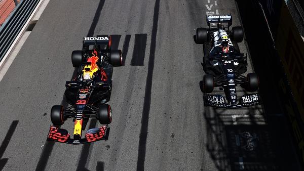 フェルスタッペン、ガスリー:2021年F1モナコGP