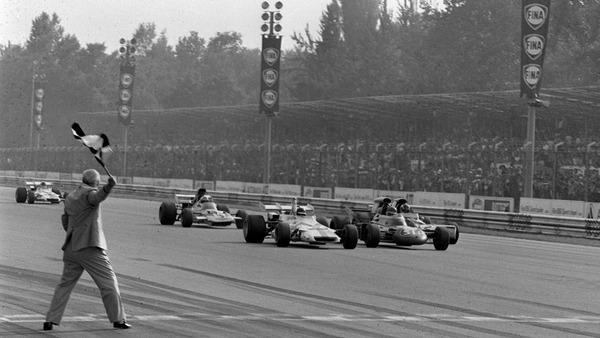 1971年イタリアGPは、F1で最も僅差の0.01秒で勝敗が決まった