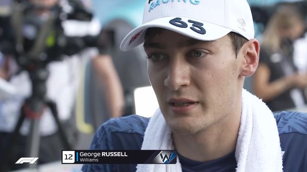 ジョージ・ラッセル(ウィリアムズ)2021年F1イギリスGP決勝コメント