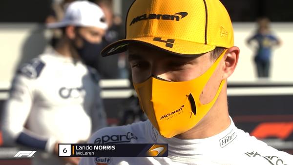 ランド・ノリス(マクラーレン)2021年F1アゼルバイジャンGP予選コメント