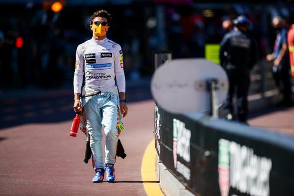 ランド・ノリス(マクラーレン)2021年F1モナコGP木曜日コメント