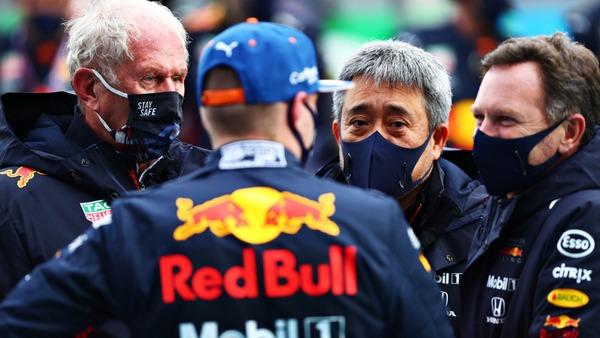 ヘルムート・マルコ、山本雅史、クリスチャン・ホーナー、マックス・フェルスタッペン:2021年F1バーレーンGP