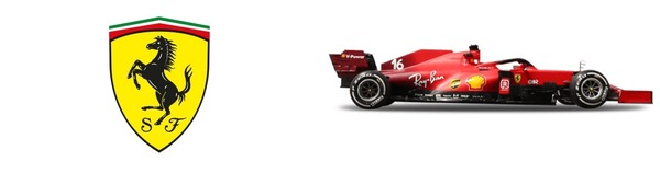 フェラーリF1チーム・ロゴとフェラーリSF21