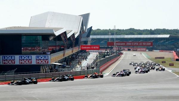 シルバーストン、2020年F1イギリスGP