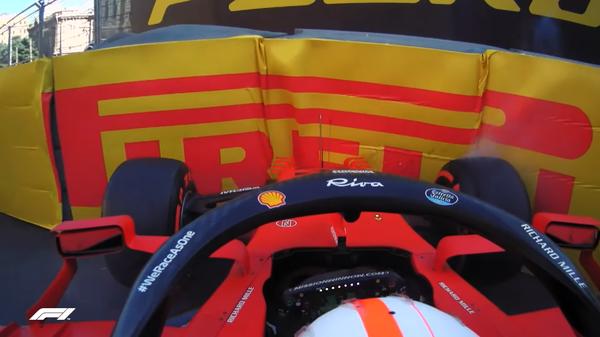 シャルル・ルクレール(フェラーリ)2021年F1アゼルバイジャンGP金曜日コメント