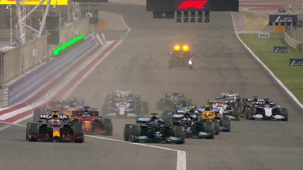2021年F1バーレーンGP スタート