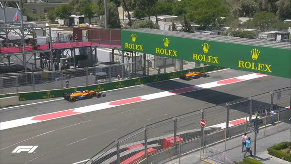 マクラーレン、2021年F1アゼルバイジャンGP