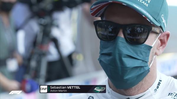 セバスチャン・ベッテル(アストンマーティン)2021年F1イギリスGP決勝コメント