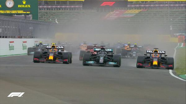 2021年F1エミリア・ロマーニャGP スタート