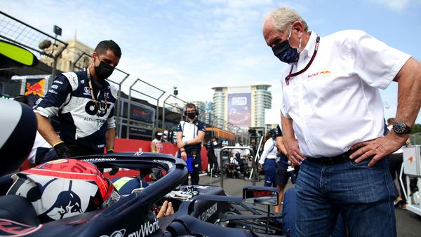 ピエール・ガスリー、ヘルムート・マルコ:2021年F1アゼルバイジャンGP