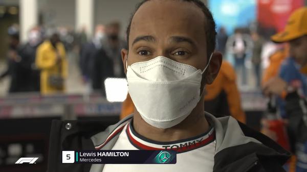 ルイス・ハミルトン(メルセデス)2021年F1トルコGP決勝コメント