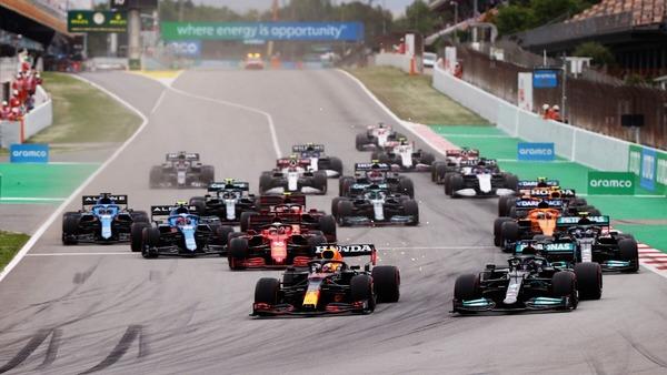2021年F1スペインGP スタート
