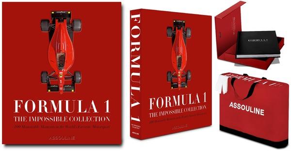 Formula 1: The Impossible Collection(ブラッド・スパージョン著者、アスリーヌ社)は2021年5月20日に発刊