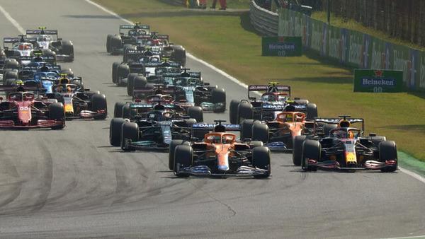 2021年F1イタリアGPスタート