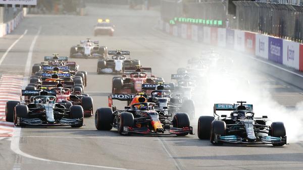 赤旗後のリスタート:2021年F1アゼルバイジャンGP