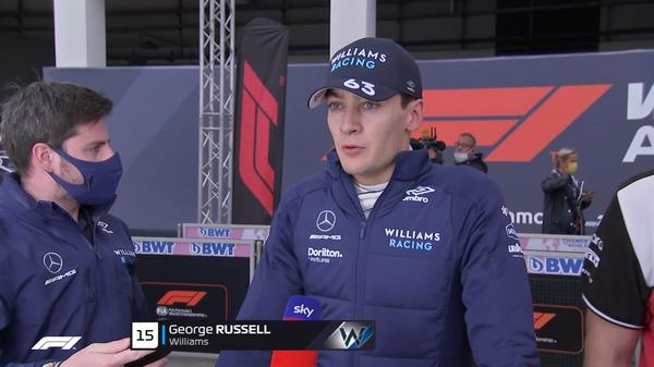 ジョージ・ラッセル(ウィリアムズ)2021年F1トルコGP決勝コメント