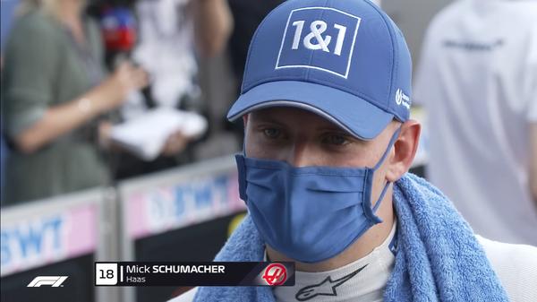 ミック・シューマッハ(ハース)2021年F1イギリスGP決勝コメント