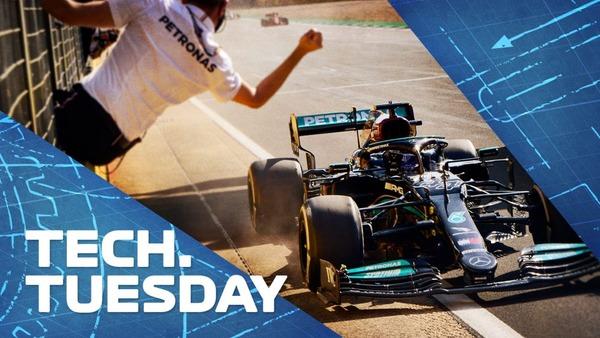 ハミルトンのシルバーストン優勝に貢献したメルセデスの2021年最後の大規模アップグレード:F1技術解説