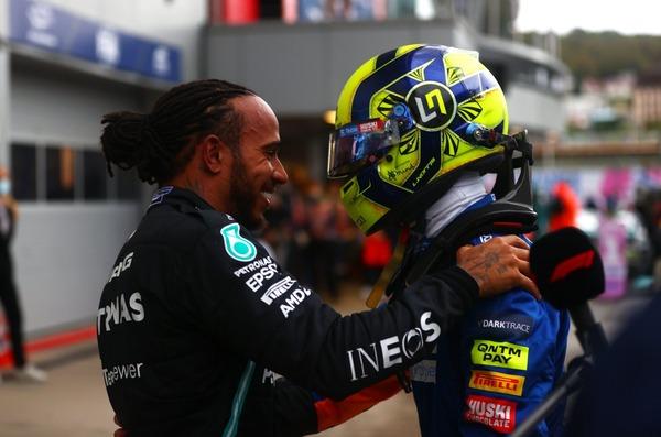 ルイス・ハミルトンとランド・ノリス:2021年F1ロシアGP