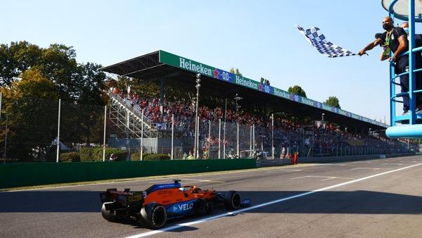 ダニエル・リチャルド(マクラーレン)優勝!:2021年F1イタリアGP