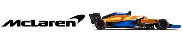 マクラーレンF1チーム・ロゴとマクラーレンMCL35M