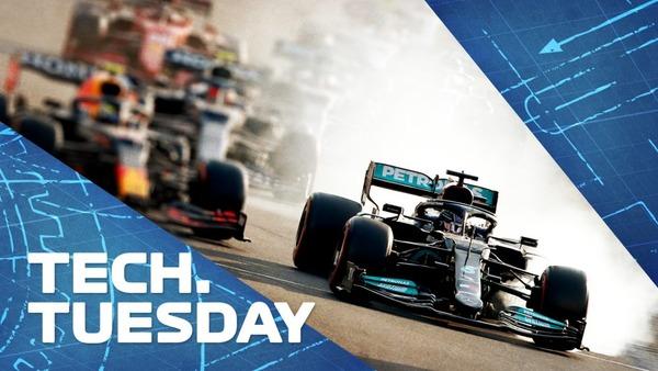 バクーでハミルトンのミスを誘った「マジック」ブレーキ設定と、メルセデスが低グリップのトラックで苦戦する理由:F1技術解説