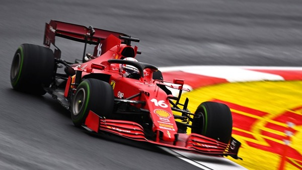 シャルル・ルクレールは、インターミディエイト交換のためにピットインするまでは、一時的に優勝の可能性もあった:2021年F1トルコGP