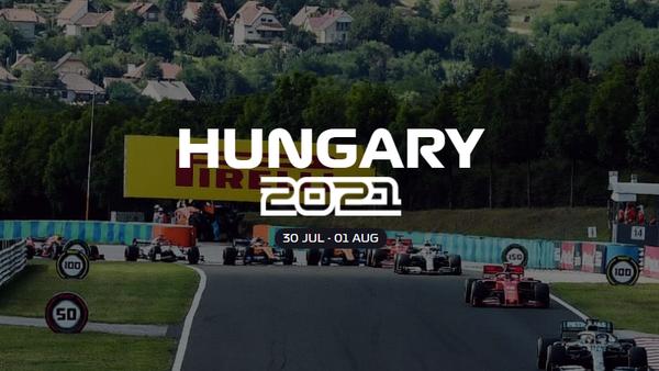 2021年F1ハンガリーGP日程 - 日本時間