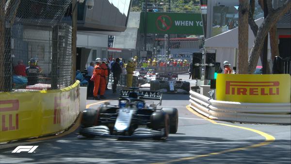 伝統のモナコGPスタート:2021年F1モナコGP