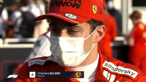 シャルル・ルクレール(フェラーリ)2021年F1アゼルバイジャンGP決勝コメント