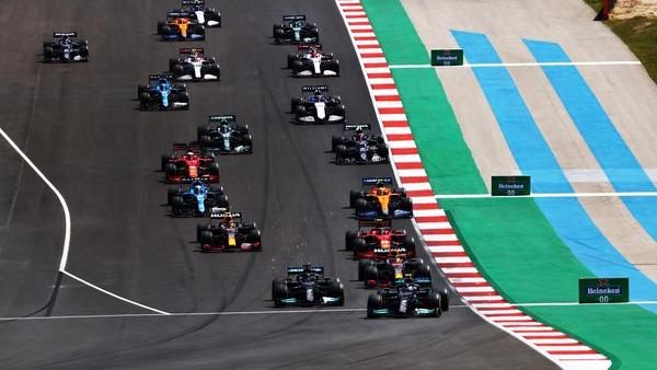 2021年F1ポルトガルGP スタート