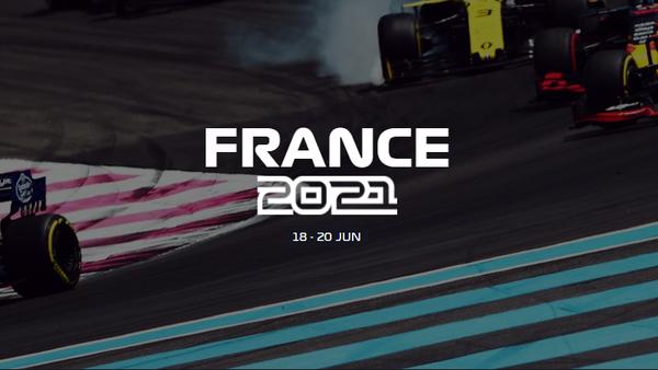 2021年F1フランスGP日程