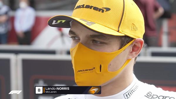 ランド・ノリス(マクラーレン)2021年F1スペインGP決勝コメント