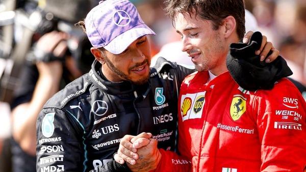 ルイス・ハミルトンとシャルル・ルクレール:2021年F1イギリスGP