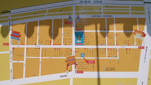 神戸南京町MAP