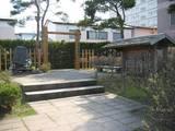 復元された一本木関門