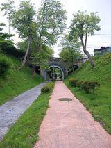 旧戸井線湯の川陸橋