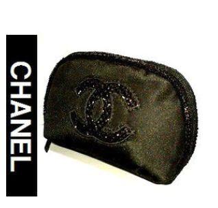 cc6aff802f34 黒のポーチ   人気のシャネルの非売品化粧ポーチを激安で購入!