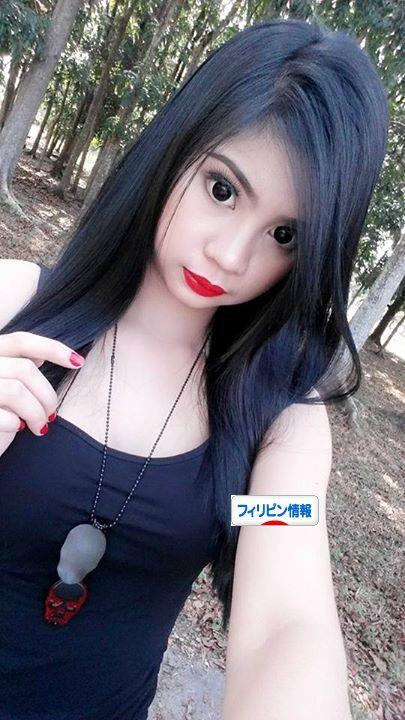 フィリピンで流行 黒目コンタクト
