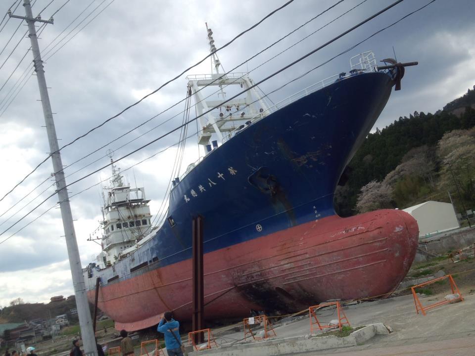 気仙沼の漁船