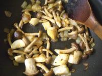 キノコの煮込みハンバーグ15