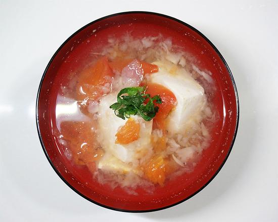 豆腐とトマトのみぞれ煮02