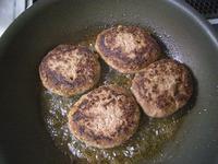 キノコの煮込みハンバーグ10