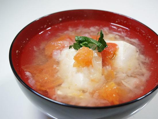 豆腐とトマトのみぞれ煮01