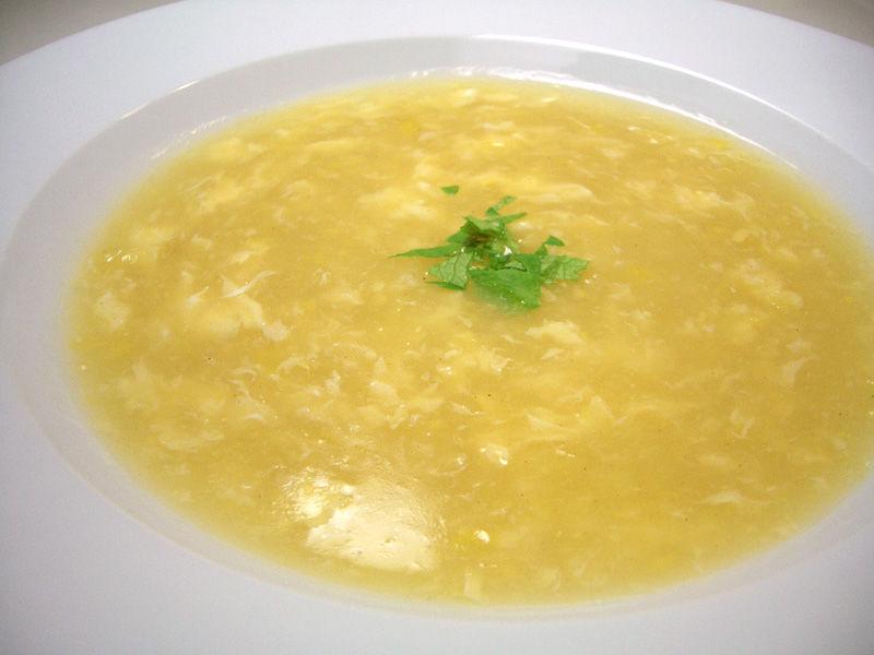 中華 風 コーン スープ