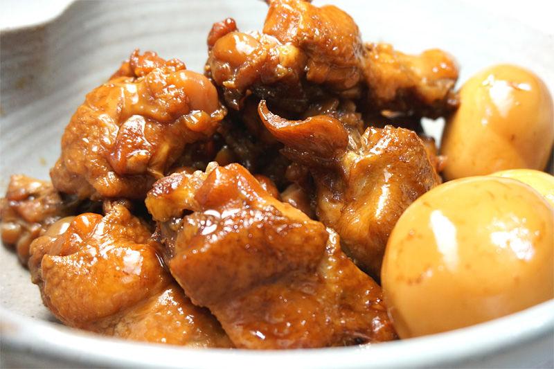 鶏手羽元のコーラ煮01