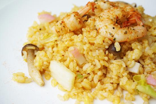レッドカレー風味の炒飯01